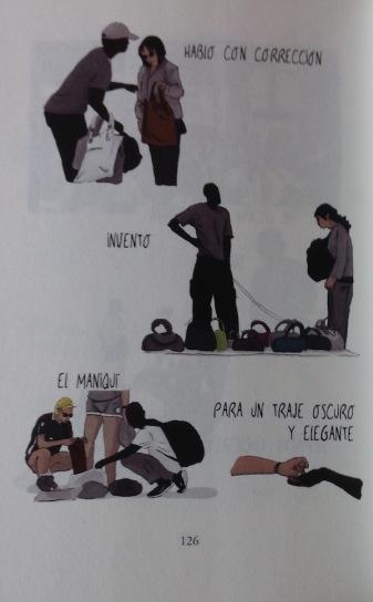 Página ilustrada por Nathalie Bellón.