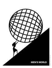 """Men's World"". Obra de Joanna Gorska & Jerzy Skakun (Homework)."