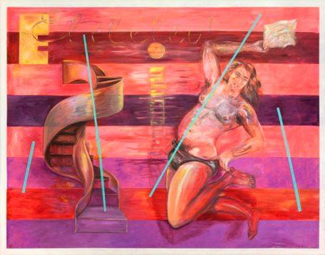 Juan Dávila. Eleleleu!, 2014. Cortesía del artista y Kalli Rolfe Contemporary Art.