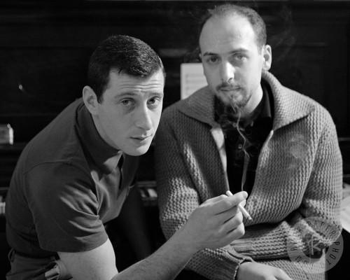 Leiber y Stoller crearon algunos de los primeros clásicos del rock%2c como el %27Hound dog%27%2c que escribieron en veinte minutos%2c pero ellos nunca los cantaron.jpg