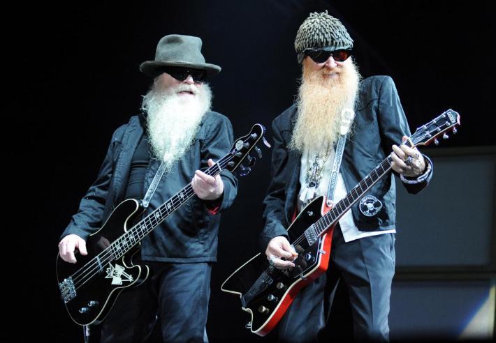 Los barbudos más famosos del rock%2c Beard y Hill de ZZ Top%2c acutaron durante meses en Usa como si fueran los británicos The Zombies incluso un año después de que éstos se separaran.jpg