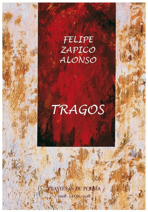 """Portada de """"Tragos"""" con el cuadro de Juan Rafael que ilustró la 1ª edición."""