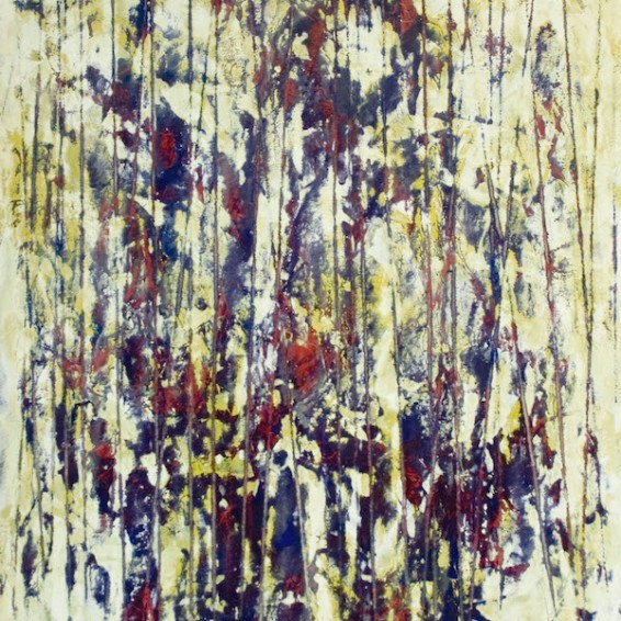 """S/T (De la serie """"Bosques 2018""""). Obra de Juan Rafael."""