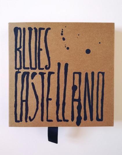 Portada de 'Blues castellano'. Diseño: Eduardo Fandiño.