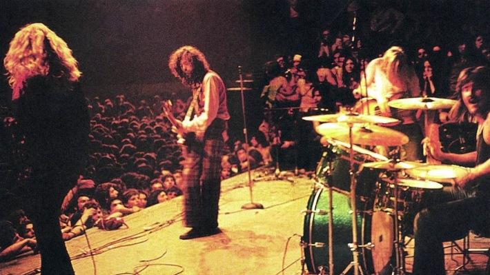 Escribir el irrestible %27Rock & roll%27 sólo llevó media hora a los componentes de Led Zeppelin.jpg