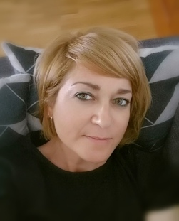 La pintora leonesa Nuria Palencia.
