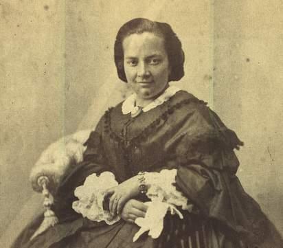 Victorina Fernández-Blanco, nacida en 1829.