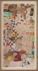 Hessie. Déchets collages grillages nº 144, 1978-1979. Colección MUSAC Fotografía: Béatrice Hatala. Cortesía de Galerie Arnaud Lefebvre
