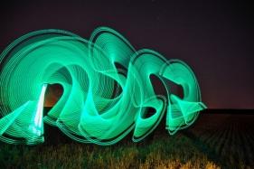 Fortu 'Pintando en la noche'