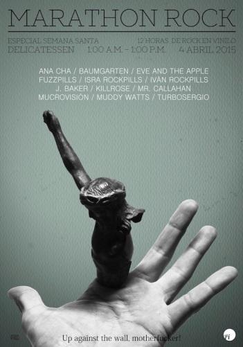 Cartel de la segunda edición. Diseño: Eduardo Fandiño.