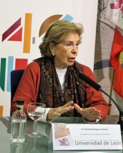 Úrsula Rodríguez.