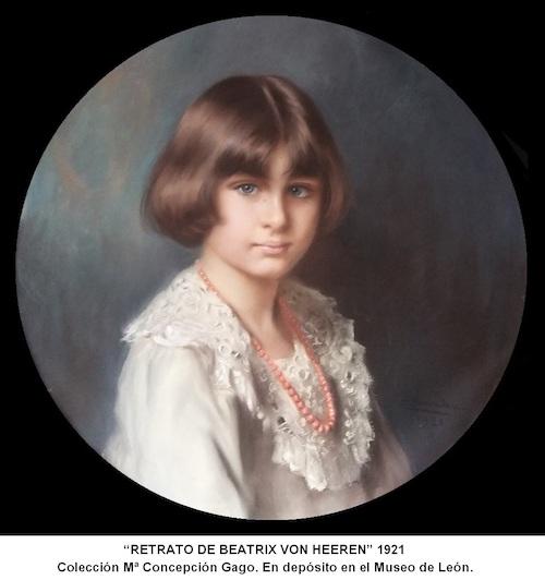 """""""Beatrix von Heeren"""" (1921), obra de Dorda."""