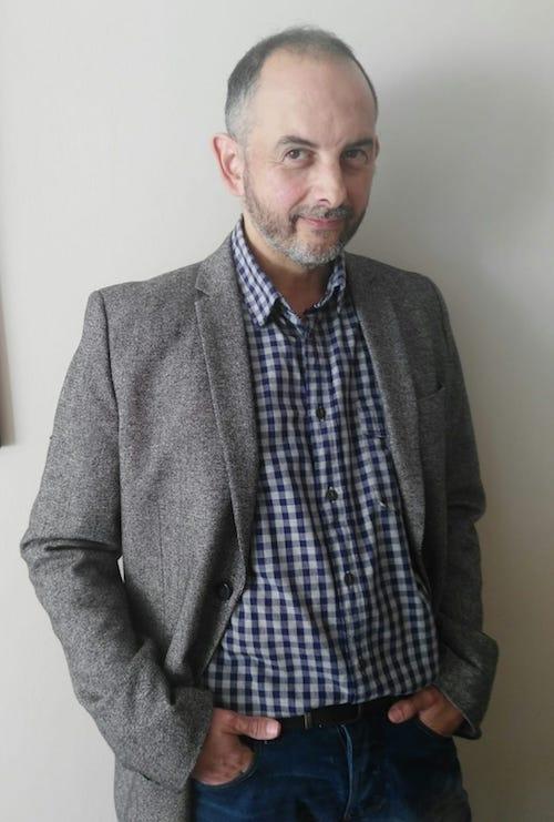 Félix J. Palma. © Fotografía de María Fortea.