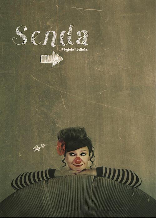 Virginia Urdiales en 'Senda', de la compañía Kull D'Sac.