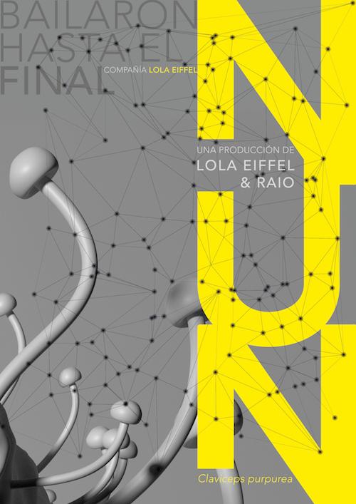 'Nun' de la compañía Lola Eiffel & RAIO. Cartel diseñado por Susana Díez.