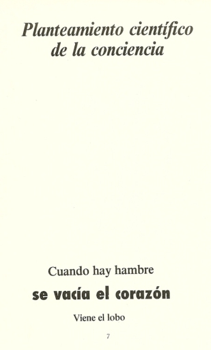 Poema del libro 'Favorables país poemas', de Tomás Salvador González.
