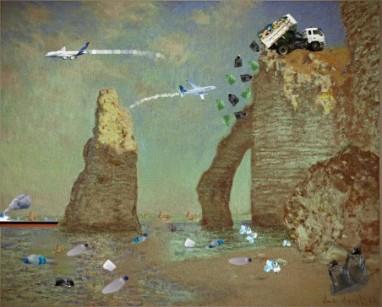Claude Monet Acantilado de Étretat Carla García