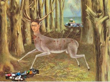 Frida Kalho .El venado herido.NAIF. 1946