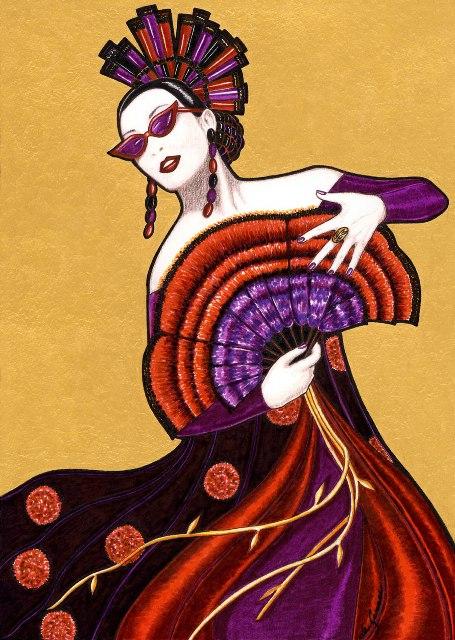 La Dama de Huelva. Fran de Gonari.