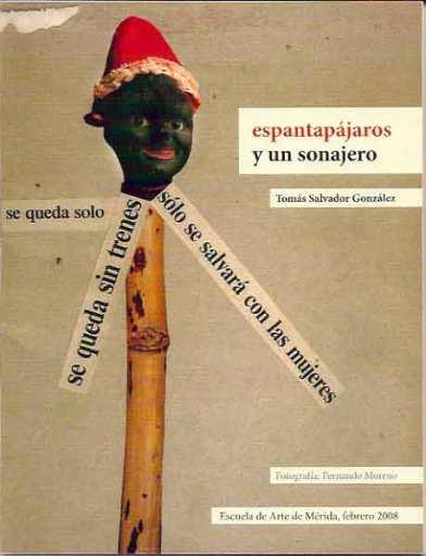 Portada de la carpeta 'espantapájaros y un sonajero', de Tomás Salvador González.