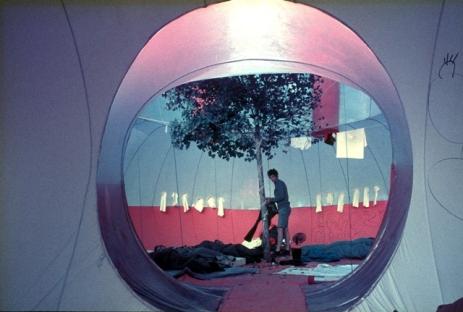 José Miguel de Prada Poole. Instant City de Ibiza, 1971 (interior). Cortesía Archivo Prada Poole.