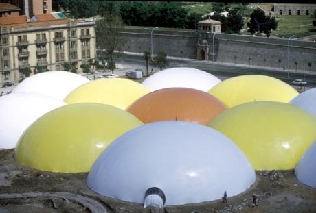 José Miguel de Prada Poole. Cúpulas de los Encuentros de Pamplona, 1972. Cortesía Archivo Prada Poole.