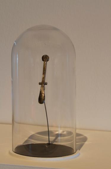 La bala, convertida en llave 12 de clarinete. Foto: cortesía de Miriam Isasi.