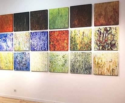 Exposición de Juan Rafael en Dosmilvacas.