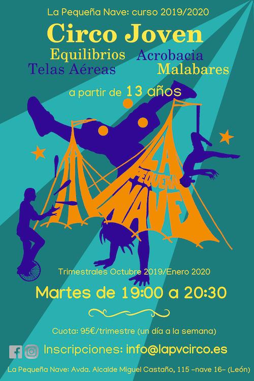 Circo Joven-Octubre 2019-Enero 2010