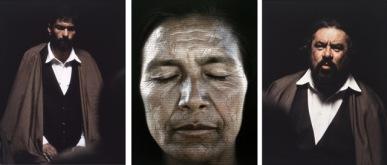 Shirin Neshat_Tooba Series, 2002. Colección MUSAC.