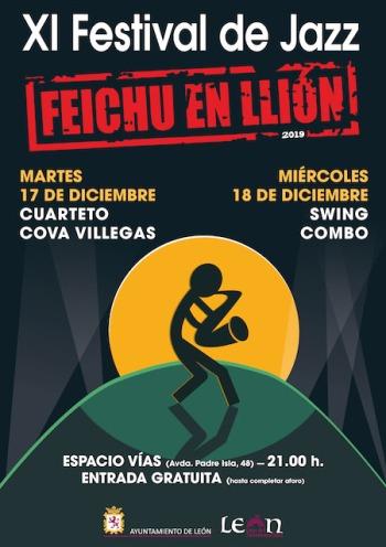 2019-12-18y17_Cartel_XI_Festival de Jazz Feichu en Llión_2019