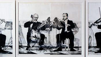Andrés Nagel. 'Cuarteto de cuerda nº4 de Mendelssohn'.