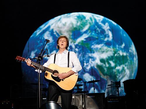 Desde su etapa con Beatles, Paul McCartney siempre ha mostrado su preocupación por el medio ambiente.jpg