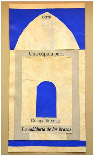 """Obra de TSG, serie """"Azul""""."""