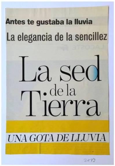 "Obra de TSG, serie ""Franjas""."