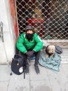 Pobres en la calle. Foto: R. Pinto.