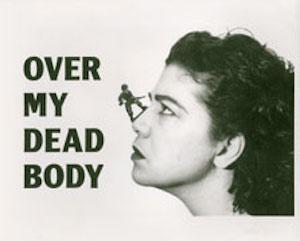 """Mona Hatoum. """"Over mi dead body"""" (Por encima de mi cadaver). Cortesía de White Cube."""