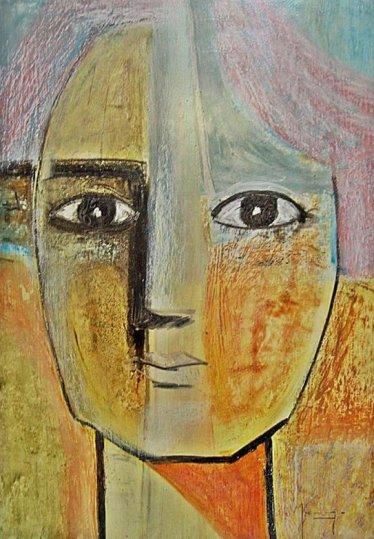 Ángela Merayo. Retrato de Mujer