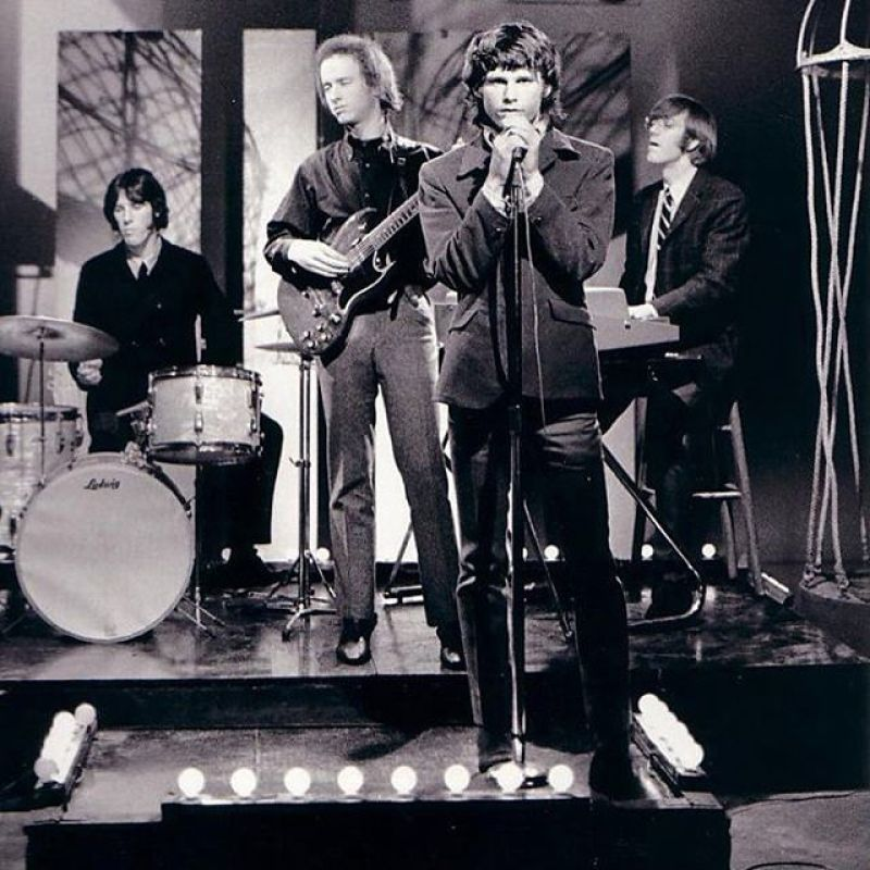 Jim Morrison se negó a que The Doors hiciera publicidad, a diferencia de Rolling Stones