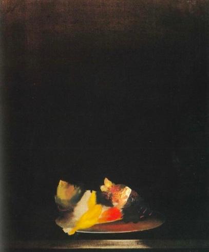 Zurbarán mariposa en cenizas (1986). César Bobis.