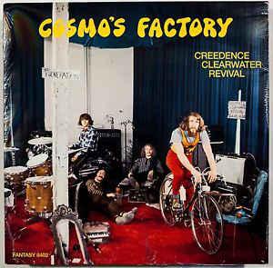 Aquel año los Creedence publicaron dos elepés, uno de ellos el 'Cosmo´s factory'.jpg