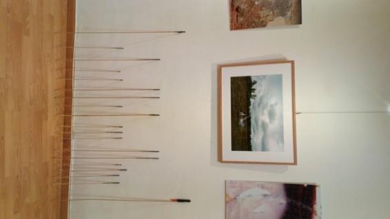 Obra de Eduardo Fandiño en la exposición