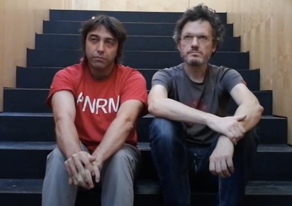 Nilo Gallego y Chus Domínguez.