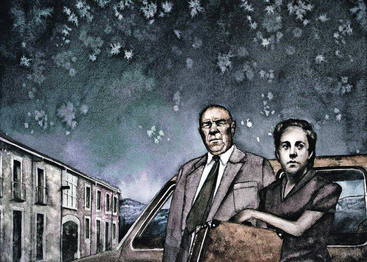 Ilustración de Carlos Rodríguez Casado para el libro.