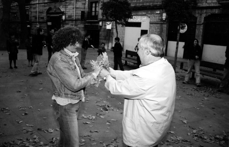 La finalidad de la vida. Carlos de Gredos, 2003 Fotografía: Carlos de Gredos.