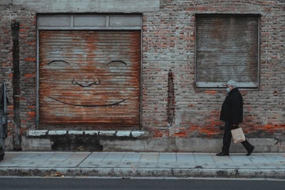 5º Premio. Mario Fuertes. 'Bajo la máscara'.