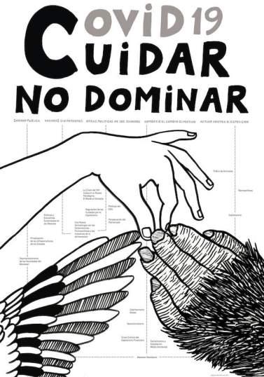 Diego del Pozo. Covid-19, Cuidar, No dominar, 2021.