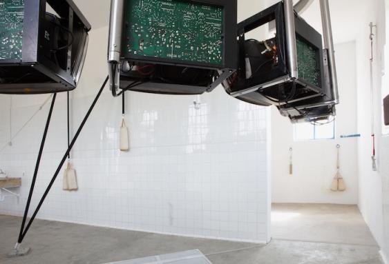 'Máquina'. Instalación de Herguedas y Mediavilla.