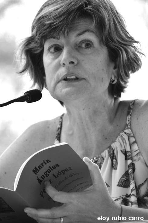 María Ángeles Pérez López. Foto: Eloy Rubio Carro.