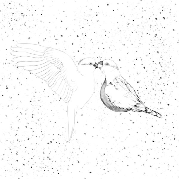 """""""Refugio"""". Ilustración de Paula de la Calle."""